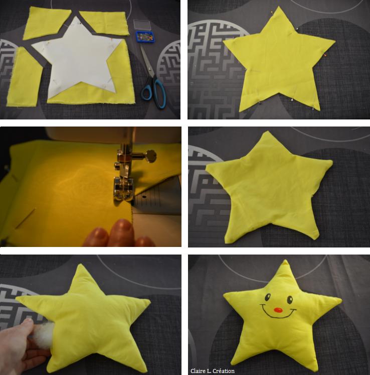 Comment j'ai cousu une étoile pour mon fils !
