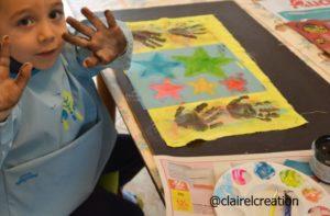 De la peinture pour des petites mains