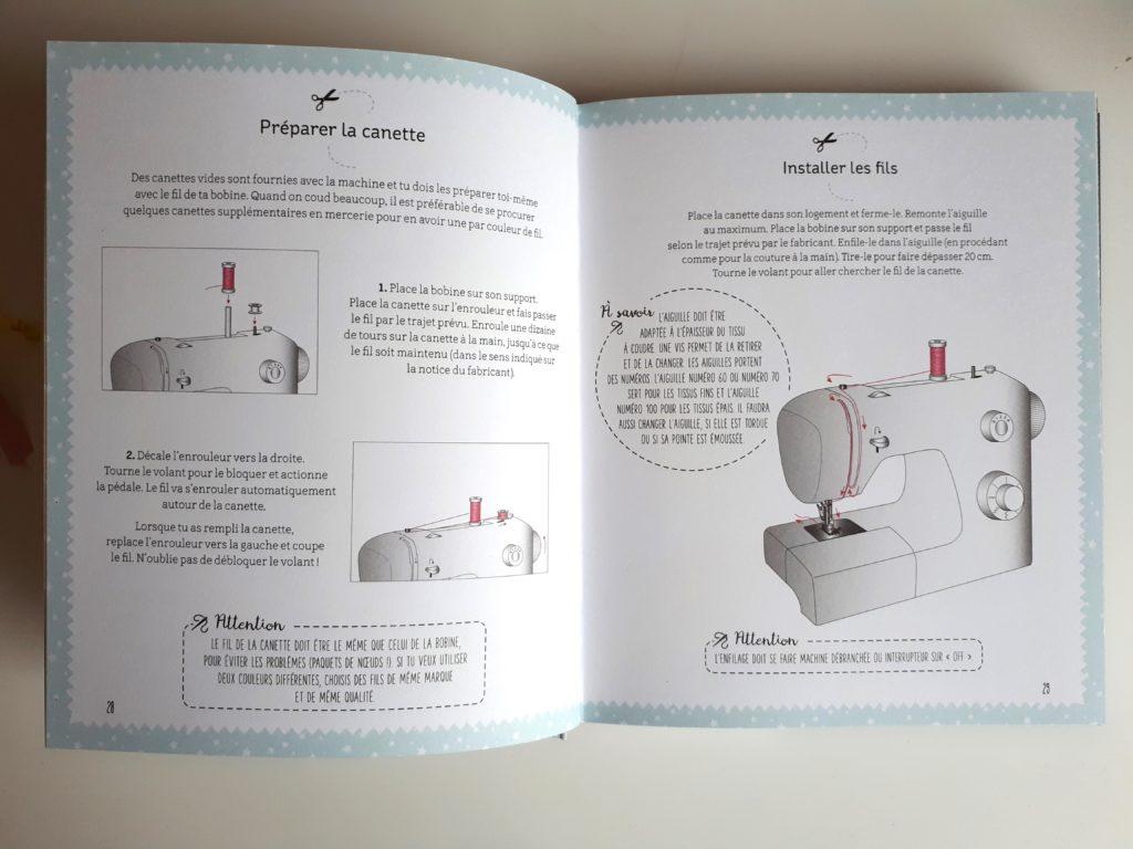 Mes premiers ateliers de couture - pour les débutants - Un super livre pour apprendre à coudre