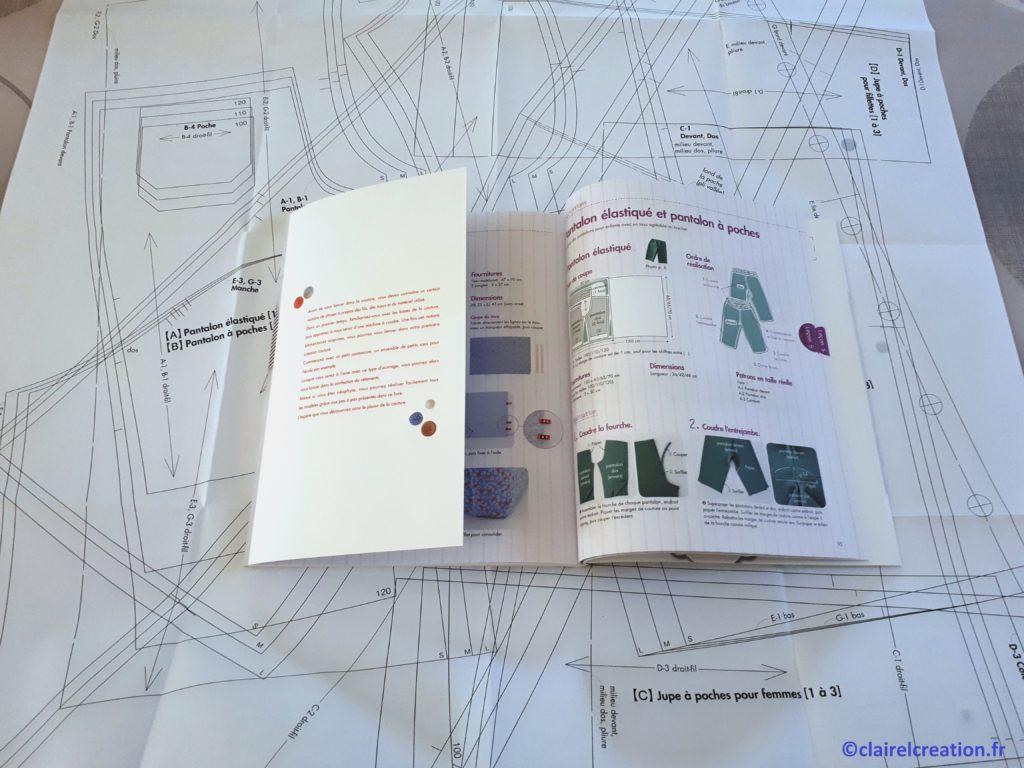 """Les patrons sont disponibles en taille 100, 110, et 120 cm, dans le livre """"Les bases de la couture à la machine"""" de Kyoko Sakauchi"""