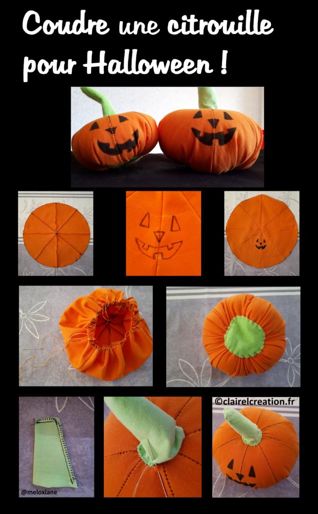 Voici comment j'ai cousu des petites citrouilles pour Halloween, en 8 étapes !