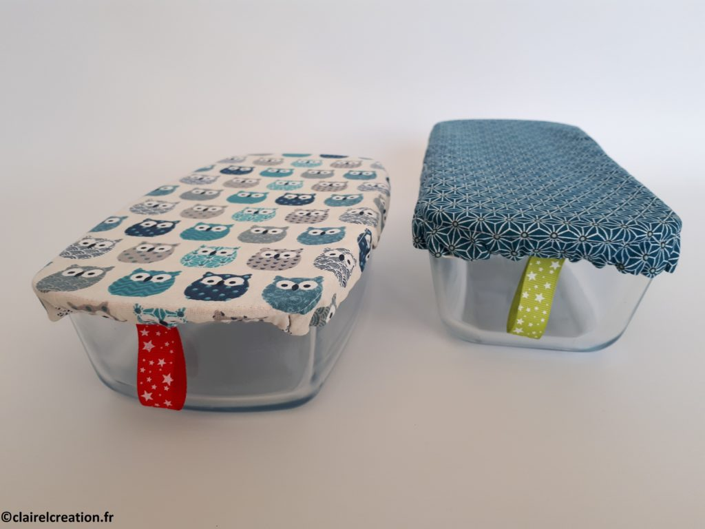Coudre un couvercle réversible en tissu